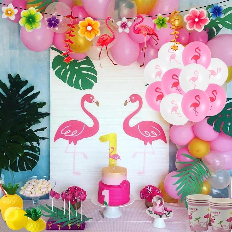 Tropical Flamingo Party Napkins Tropical Party Napkins Flamingo Party Napkins Flamingo Party Summer Party Napkins