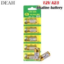 5 шт./лот щелочной Батарея 12V 23A 23GA 21/23 A23 A23S E23A EL12 MN21 MS21 V23GA MN21 L1028 RV08 GP23A K23A для пульт дистанционного управления дверным