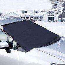 Auto Winter Blok Sneeuw Doek Dikker Oxford Doek Voorruit Zonneschermen Auto Universele Vorst Stofdicht Cover Accessoires