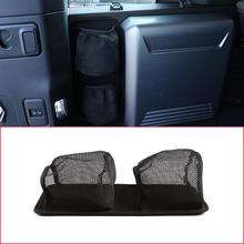 Land Rover Defender 110 için 2020 araba styling kumaş siyah gövde yan depolama örgü çanta saklama çantası araba aksesuarları