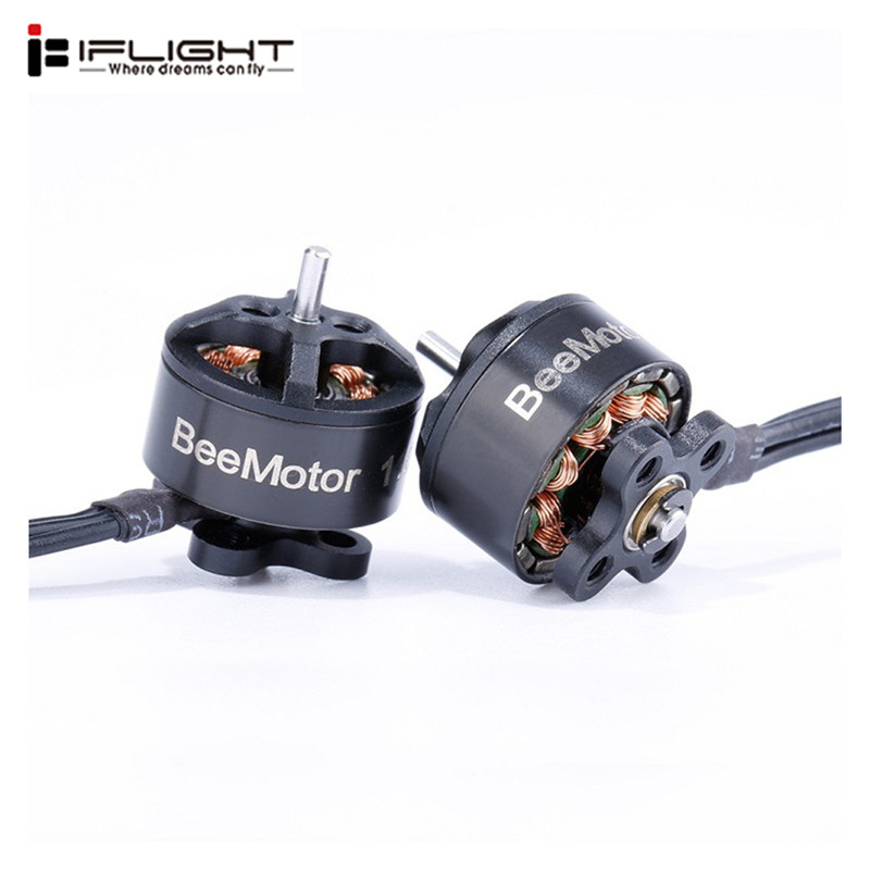 1/2/4/5PCS Original iFlight BeeMotor <font><b>1105</b></font> 4500KV 2-4S <font><b>Brushless</b></font> <font><b>Motor</b></font> 1.5mm Shaft for RC Drone FPV Racing Parts Accessories image