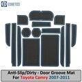 Противоскользящий коврик для TOYOTA Camry 2007-2010 2011 XV40 40 Daihatsu Altis Aurion VI 6 Слот для ворот противогрязный Коврик для двери