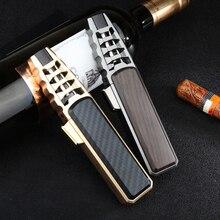 JOBON Upscale Jet Turbo Lighter Fixed Flame Metal Super Firepower 1300C Kitchen