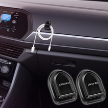 Car multifunctional mini hook Car interior hooks headphone cord key storage Poly Bag Organizer for KIA PICANTO Car Styling