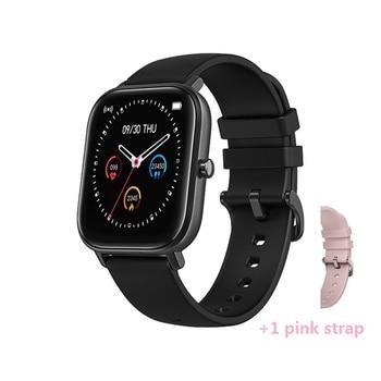 Senbono 2020 p8 smart watch ip67 αδιάβροχη προστασία μετρητή παλμών και πίεσης για ios και android