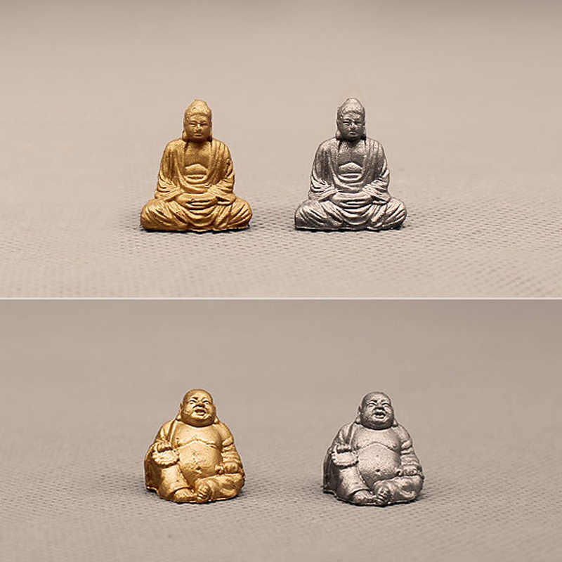 NEW~1Pcs Buddha statue/fairy garden gnome/moss terrarium home decor/crafts/bonsai/bottle garden/miniature/figurine/model/toy