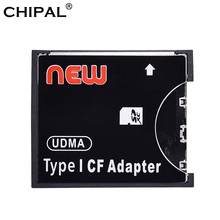 CHIPAL yüksek hızlı SDXC SDHC standart Compact Flash tip I kartı dönüştürücü SD CF adaptör kartı destek kapasitesi 8 GB 128 GB