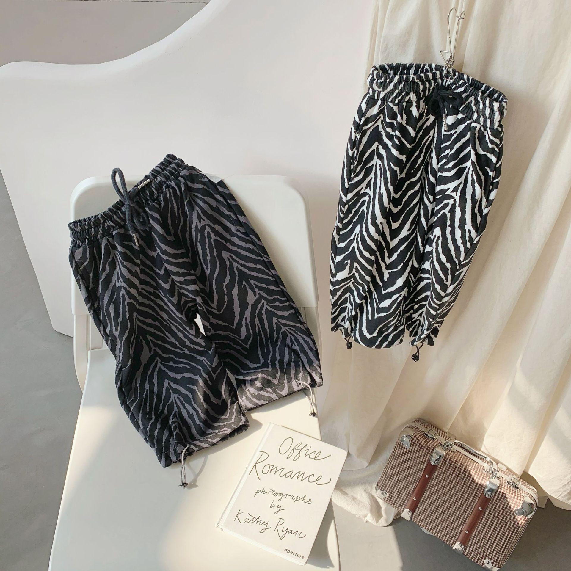Новое поступление на весну, хлопковые брюки в Корейском стиле для девочек, повседневные модные Универсальные брюки для девочек, крутые милы...