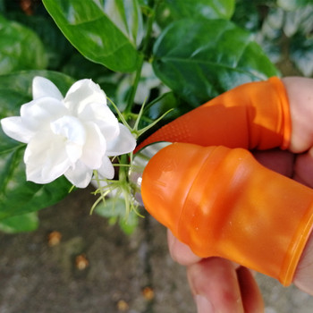 1pcs Silicone Finger Protector Protective Gears Safe Fruit Picking Tool Garden Protectors for Cutting Blade Rings Garden Gloves