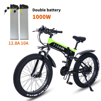 ¡Novedad de 2020! ebike bicicleta eléctrica de 48V, 1000W, bicicleta eléctrica de montaña, bicicleta plegable, 4,0 de neumático ancho, batería de litio de 48V 15Ah