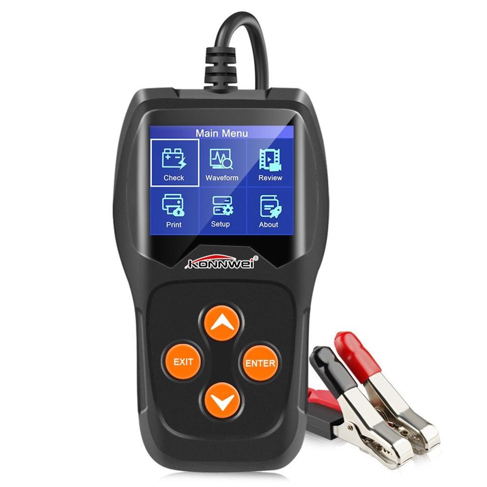 Kw600 12V Car Battery Detector Battery Car Battery Detector Car Battery Testing Car Diagnostic Equipment