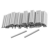 100 Pcs Stainless Steel 1.25mm x 15.8mm Dowel Pins Fasten Elements|Connectors| |  -