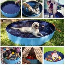 Dog Pool Foldable Dog Swimming Pool Pet Bath Swimming Tub Bathtub Pet Collapsible Bathing