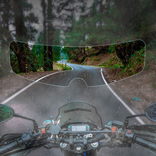 Anti-fog Patch Visor Lens for Motorcycle Full Open Face Helmet Lens Anti-fog Film Motorcross