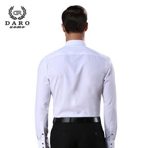 Image 2 - DARO חולצה לבן טוקסידו חולצה מסיבת חתונה חולצה 2020 חדש הולם חולצה 883