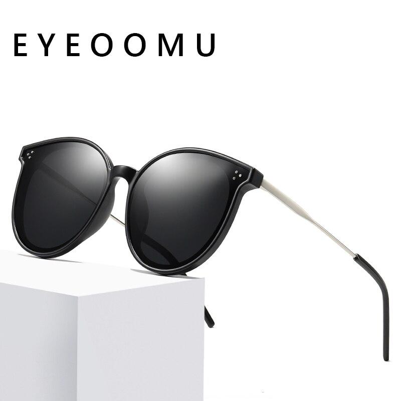 Купить eyeoomu ретро стиль кошачий глаз поляризационные солнцезащитные