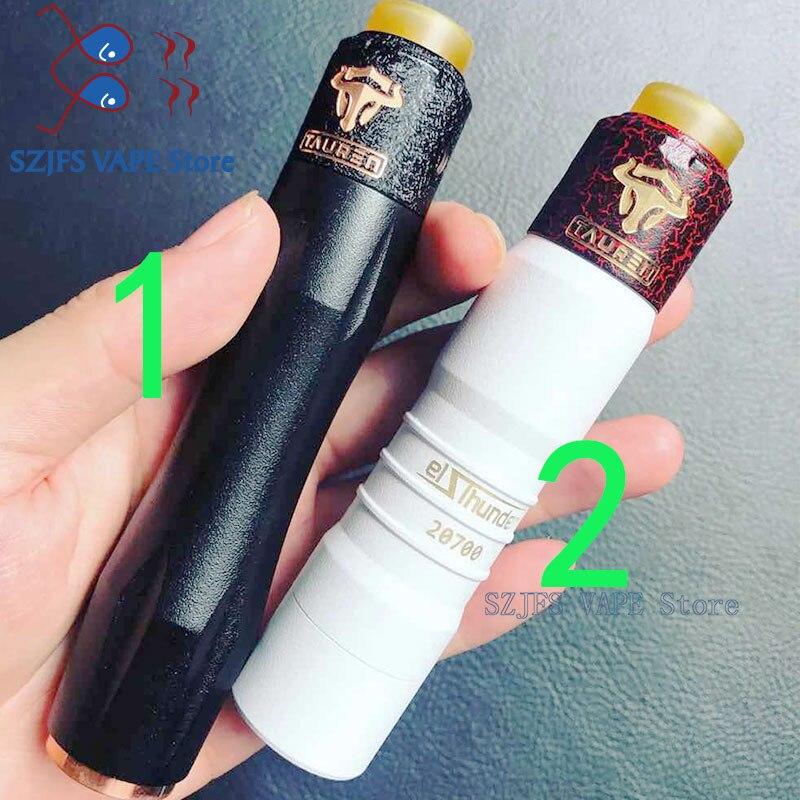 Elthunder Mod Glm V3 V2 THC Tauren RDA  24mm Diameter With Micro Air Holes On Both Sides Suitable Rebuildable Drip Atomizer Vape