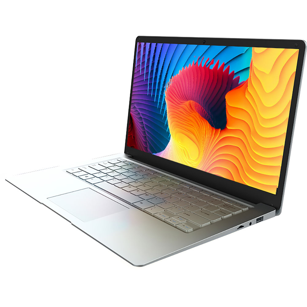 מגשר EZbook A5 14 אינץ מחשב נייד 1080P FHD Intel דובדבן שביל Z8350 Quad Core נייד 1.44GHz Windows 10 4GB LPDDR3 64GB eMMC title=