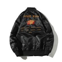 Bomber-Jacket Japanese Streetwear Fashion Chamarras Men Youth Para Embroidery Autumn