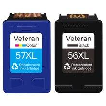 Картридж Veteran 56XL 57XL, совместимый с hp 56 57, чернильные картриджи hp Deskjet 450 F4180 450cbi 450ci PSC1350 F4140 5150 5550
