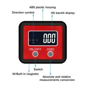 Image 2 - Goniometro angolare R & D smussatura universale Mini goniometro digitale elettronico a 360 gradi inclinometro Tester strumenti di misura