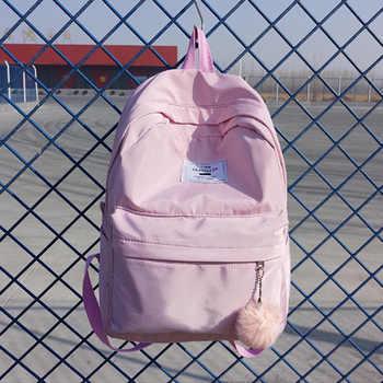 Fashion Women Backpack Pretty Style Girls School Backpack Female Waterproof Nylon Travel Backpack School Bag Mochila Satchel SAC - DISCOUNT ITEM  35 OFF Luggage & Bags