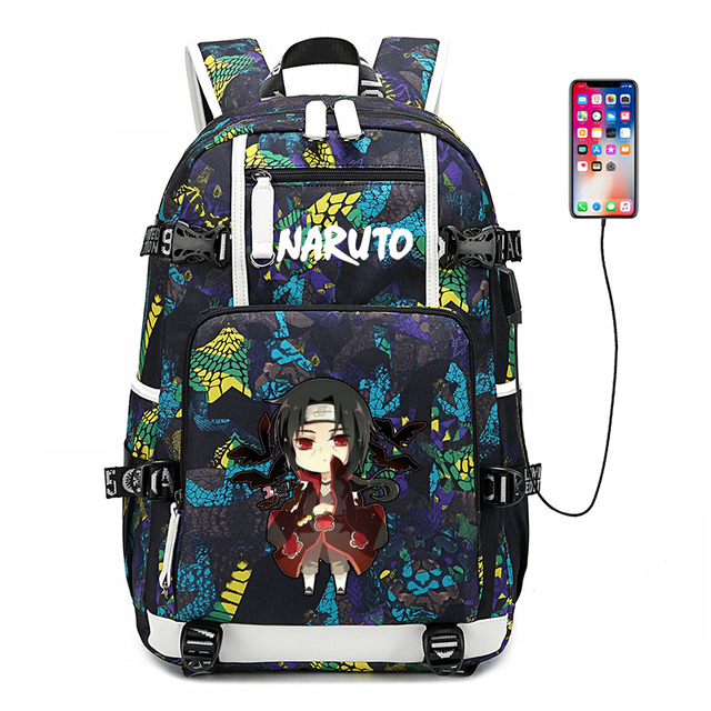 3D NARUTO THEMED BACKPACK (6 VARIAN)
