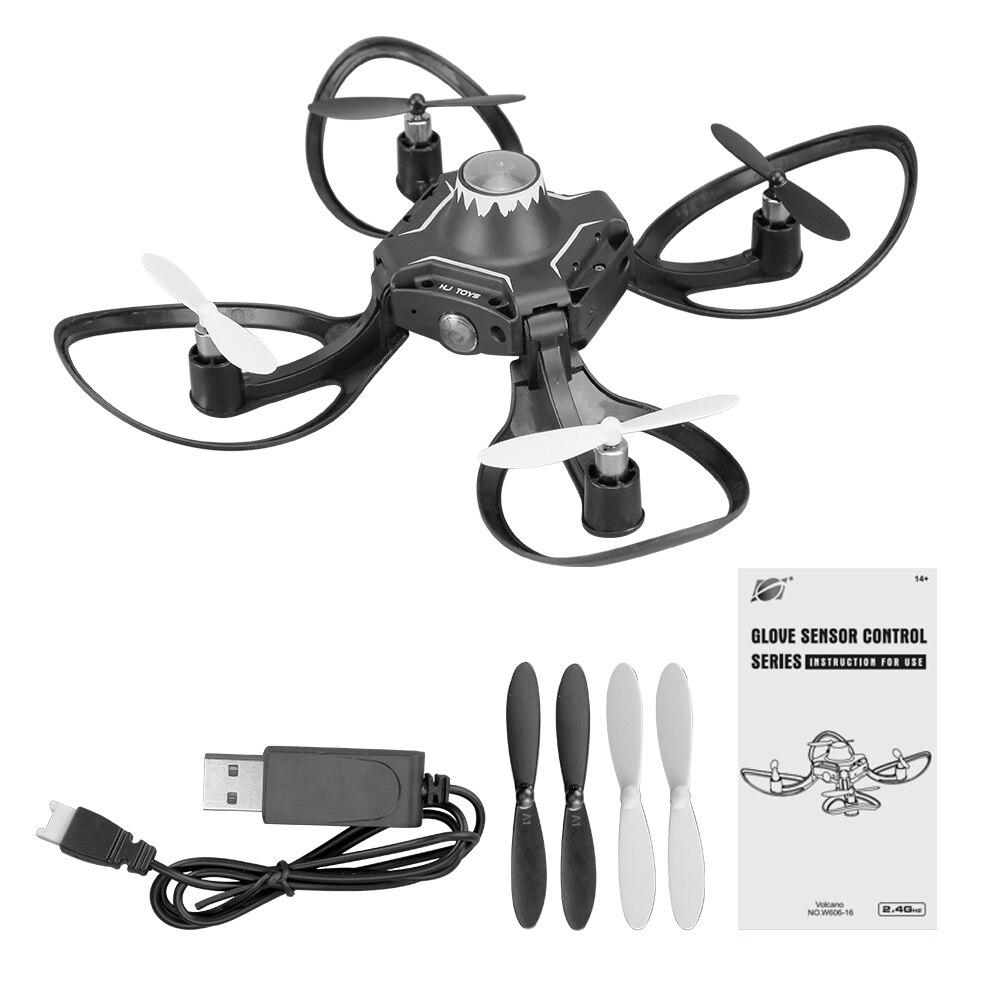 Mini RC Hand Sensor Quadcopter Drone with 480P Camera 15