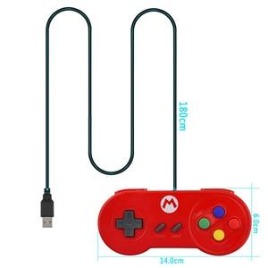 Image 4 - RETROMAX USB Bộ Điều Khiển Chơi Game Joystick Chơi Game Bộ Điều Khiển Cho Máy Nintendo SNES Chơi Game/Windows7/8/10/MAC Máy Tính điều Khiển Joystick