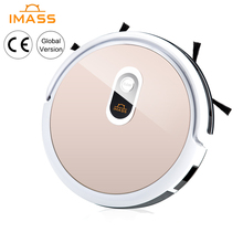 IMASS Robot Vacuum Cleaner Smart Home Automatic Robot Cleaner App Wifi Remote Control for Household Dust Cleaning Machine 2018 new xiaomi mitu robot smart building block robot 305 bricks bluetooth mobile remote phone app control for xiaomi smart home