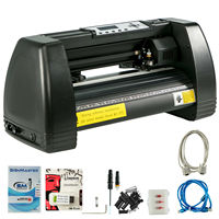 Vinyl Cutter Plotter Cutting 14 Sign Maker Graphics Handicraft Wide Format With Signmaster software