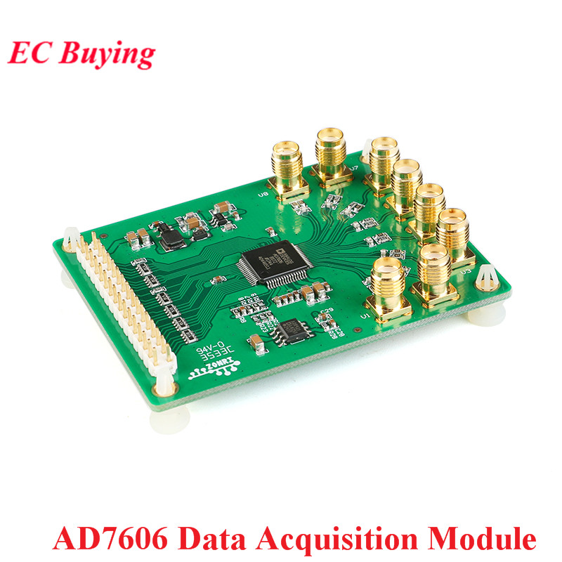 AD7606 Data Acquisition Module Analog To Digital Conversion Module 8 Channel ADC Synchronous Sampling 16Bit 200KSps ADR421