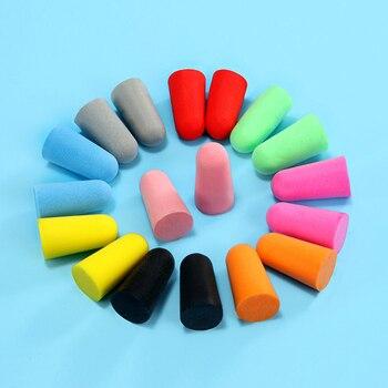 10 пар комфортных мягких пенопластовых затычек для ушей, конические затычки для сна, защита от шума, защита для ушей