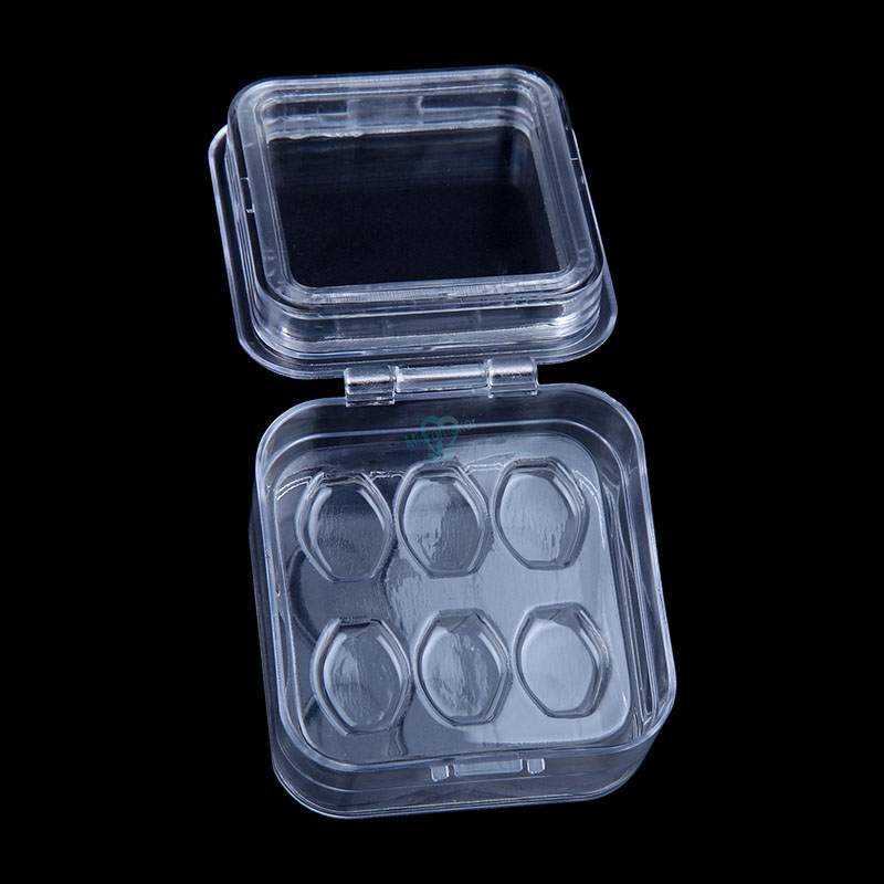 Dental Tooth Box with Film High Quality Dental Supply Denture Storage Box Membrane Tooth Box with hole 6