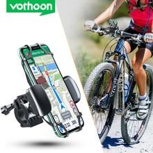 Vothoon titular do telefone da bicicleta universal titular do telefone móvel guiador gps motocicleta suporte para iphone 12 pro samsung