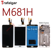 For Meizu M3 Note M681H LCD Display Touch Screen Digitizer Panel Assembly For Meizu M681H Display With Frame M3 Note M681Q
