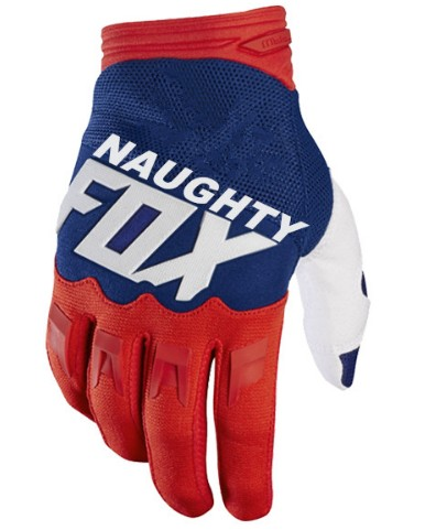 FRECH Fox MX ATV Rot blau weiß 360 Dirtpaw MX Motocross Racing Handschuhe <font><b>Enduro</b></font> Dirt Bike Handschuhe image