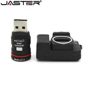 Image 2 - JASTER חם SLR מצלמה USB דיסק און קי מצלמה Pendrive cartoon usb מקל מיני עט כונן 64gb 32gb 16gb זיכרון מקל משלוח חינם