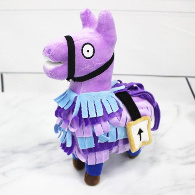 15/20CM Alpaca Rainbow Plush Dolls Cute Kawaii Soft Llama Doll Animal Stuffed Plush Toys for Children Birthday Christmas Gift