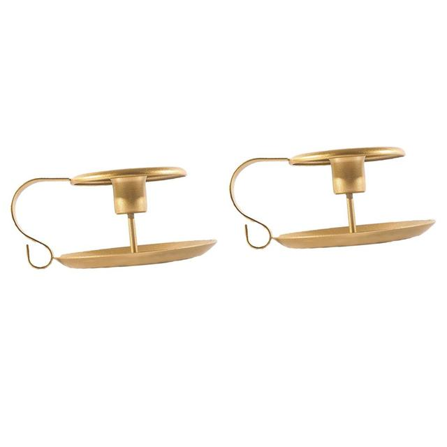 2 pièces Design européen bougeoir chandelier pilier bougeoir décor