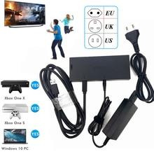 Kinect 2,0 Версия сенсор адаптер переменного тока блок питания для Xbox one S/X/Windows PC, для X BOX ONE Slim/X Kinect адаптер
