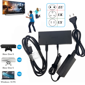 Newest Kinect 2.0 Version Sensor AC Adapter Power Supply for Xbox one S / X / Windows PC , for X BOX ONE Slim/X Kinect Adaptor(China)