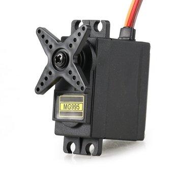 MG995 אנלוגי סרוו הילוך מתכת סרוו 55g במהירות גבוהה מומנט הדיגיטלי סרוו מנוע עבור RC רכב רובוט מסוק (בקרת זווית 180)