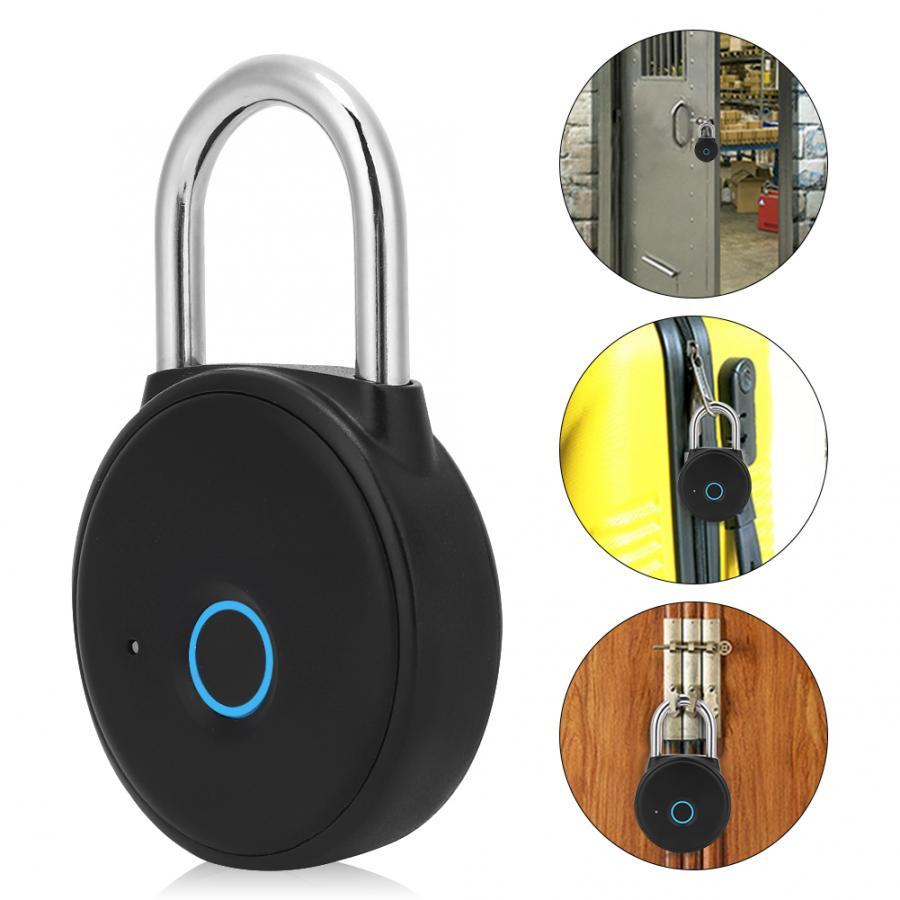 Lacat cu amprenta si bluetooth, deblocare inteligenta, protectie IP65 4