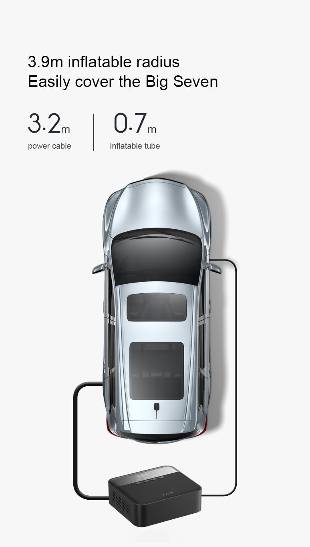 Xiaomi 70Mai Air Compressor Lite 9