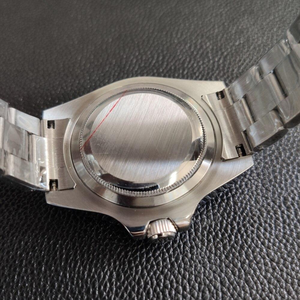 2019 neue Mode Edelstahl Quarz Uhren 200M Wasserdichte Metall Armband Luxus Schwarz Gost Tauchen Armbanduhr für Männer männlichen - 5