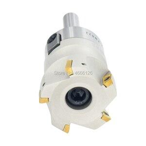 Image 2 - 1set C12 FMB22 عرقوب + BAP300R 50 22 الوجه القابلة للفهرسة قاطعة الطاحونة 5 المزامير Endmill الكتف الزاوية اليمنى لإدراج APMT1135