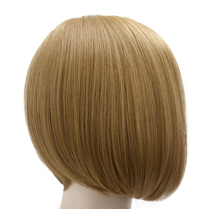 Image 4 - MUMUPI Short Straight Hair Wig Synthetic Light Pink Gray Pink 23 Color Cosplay Bob Wig with Bangs Heat Resistant Women Peruca