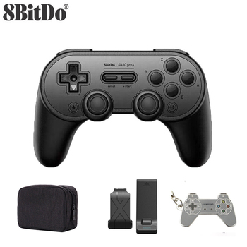 8Bitdo SN30 Pro+ Bluetooth wireless Gamepad Controller 8bitdo SN30 Pro plus for Windows Android macOS Nintendo Switch Steam фото