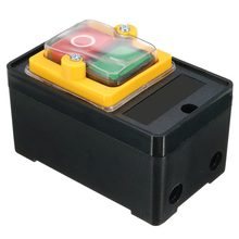 цена на AC 220/380V On/Off Water Proof Push Button Switch KAO-5 for Drill Motor Machine